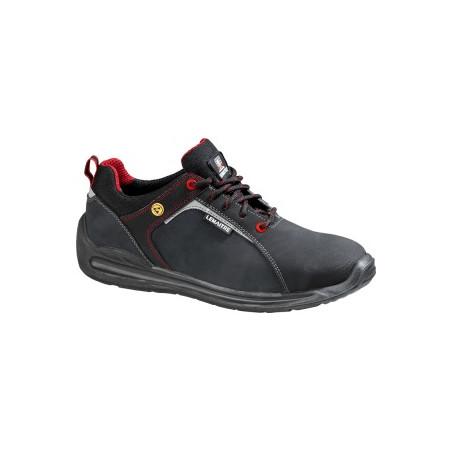 Lemaitre - Chaussures de sécurité basses Super X Low s3 Esd Src - Noir/Rouge
