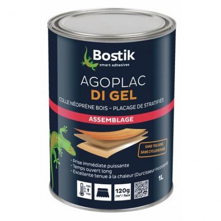 BOSTIK - COLLE AGOPLAC DI GEL 1 LITRE