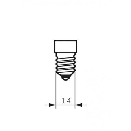 PHILIPS - COREPRO CANDLE ND 5.5-40W E14 827 B35 FR