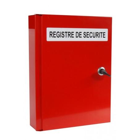 COFFRET POUR REGISTRE DE SECURITE