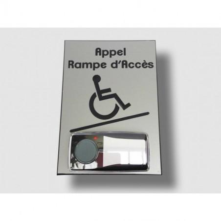 CARILLON D'APPEL DESIGN POUR RAMPE D'ACCES MOBILE - VERTICAL