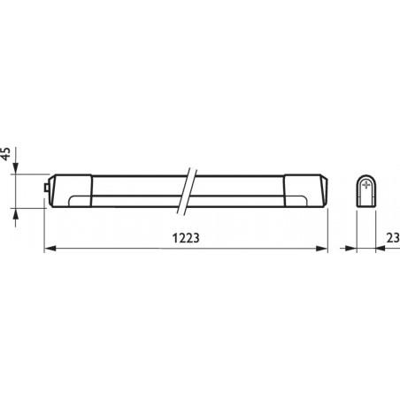 PHILIPS - PENTURA MINI TCH128 1XTL5-28W/840 HF