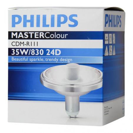 PHILIPS - MASTERCOLOUR CDM-R111 35W/830 GX8.5 24D