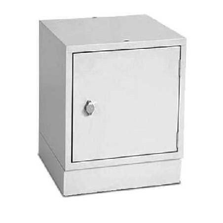 Casier de rangement individuel Multibox - 45 x 45 x 45 cm - Gris